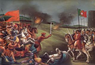 Shivaji Maharaj`s Army InMarathi