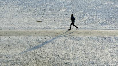 Winter workout InMarathi