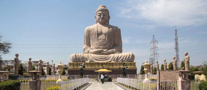buddha-statue-bodh-gaya InMarathi