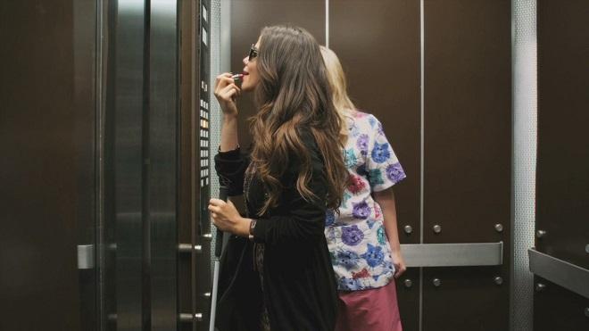 mirror in lift 2 InMarathi