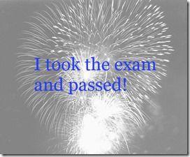 took the exam InMarathi