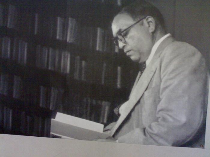 Dr_Babasaheb_Ambedkar_reading_a_book inmarathi