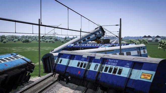 Rail Accident InMarathi
