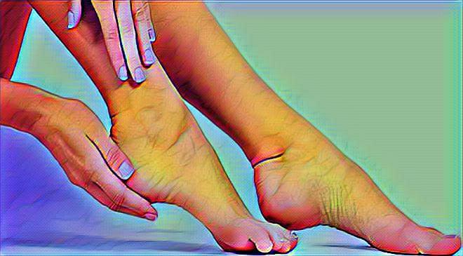 feet pain inmarathi