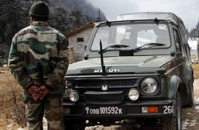 maruti gypsy army inmarathi