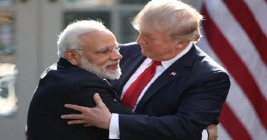 modi and trump inmarathi