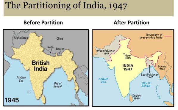 India partition inmarathi