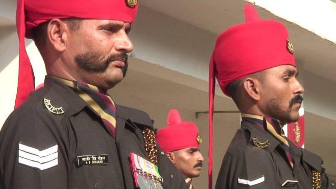 Rajput Regiment InMarathi