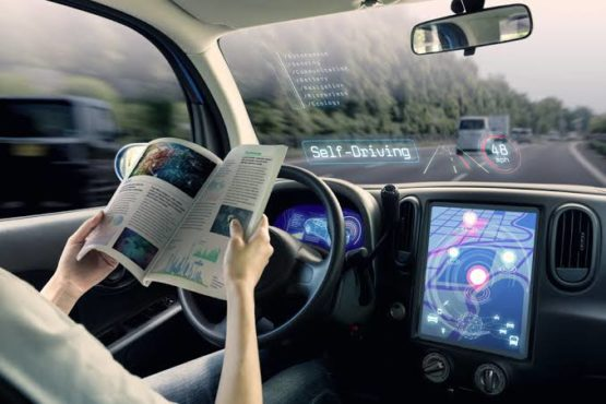 autonomous car inmarathi