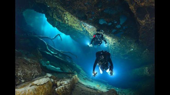 cave diving inmarathi