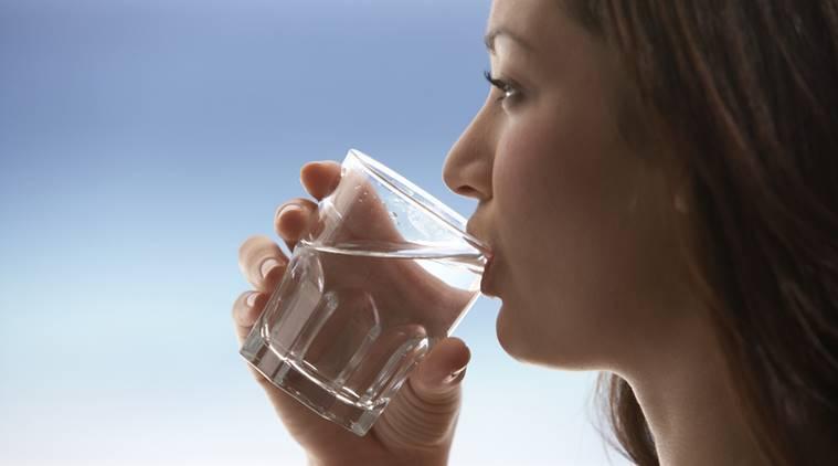 drinking water inmarathi