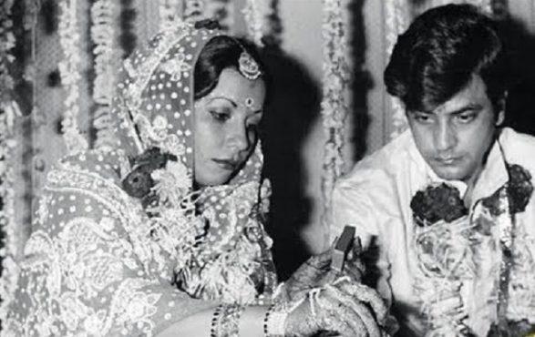 jeetendra and shobha kapoor InMarathi