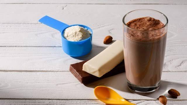 protein shake inmarathi