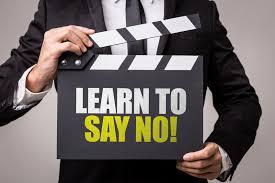 say no inmarathi