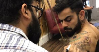 virat tattoo inmarathi