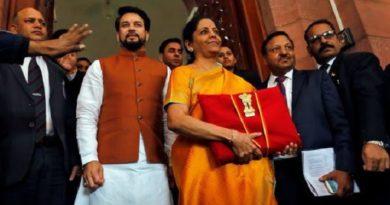 Nirmala Sitharaman Budget 2020 inmarathi