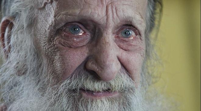 Very old man crying InMarathi
