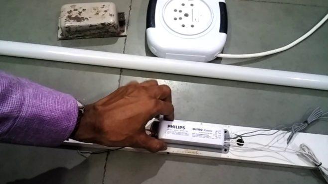 choke of tube inmarathi