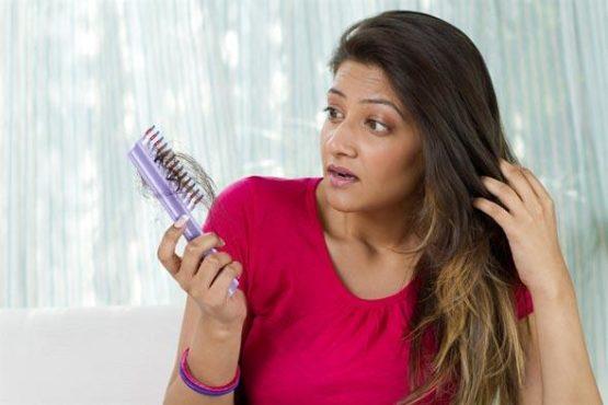 indian girl hair fall inmarathi