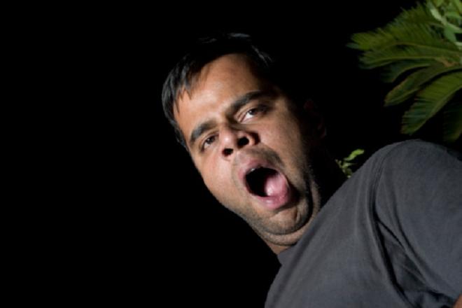 indian guy yawn inmarathi
