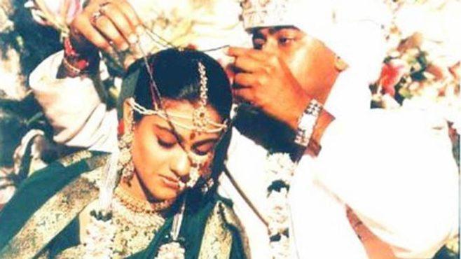 kajol married inmarathi