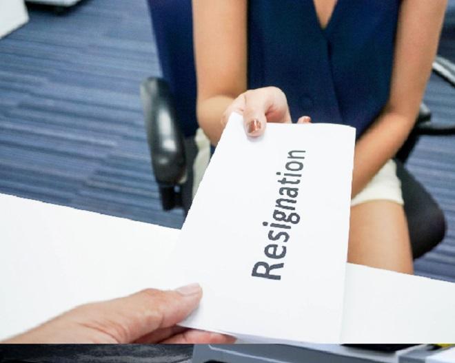 resignation inmarathi