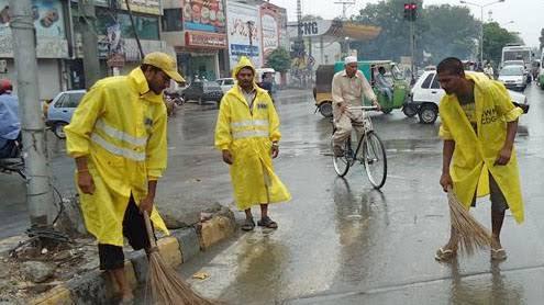 sanitary workers inmarathi