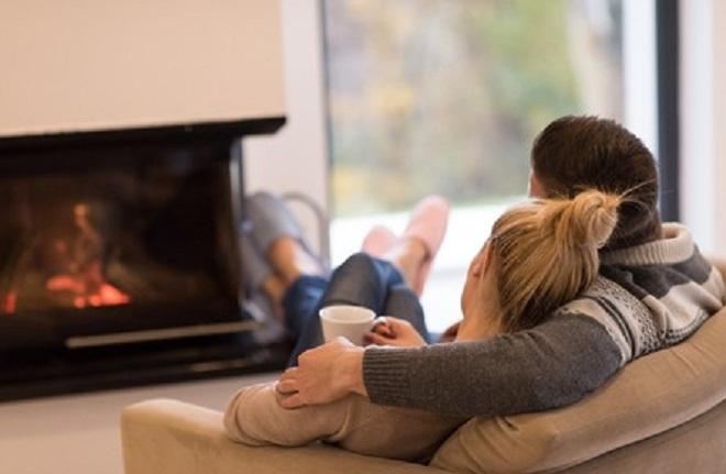 couple watching tv inmarathi