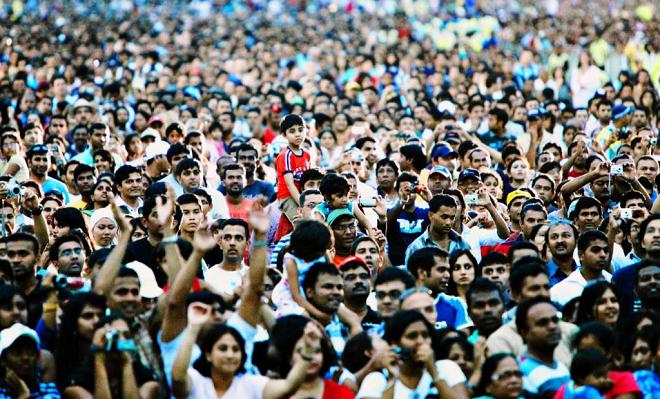 crowd inmarathi