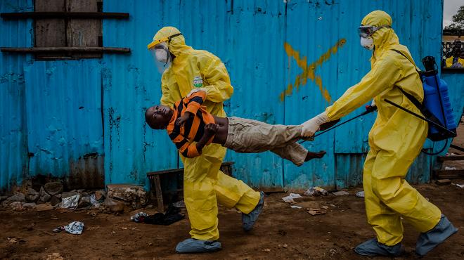 ebola crisis inmarathi