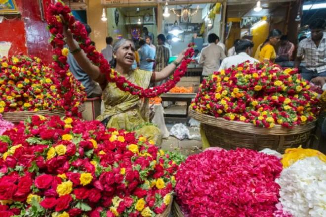 flower market inmarathi