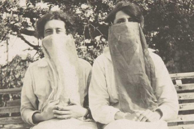 flu mask inmarathi