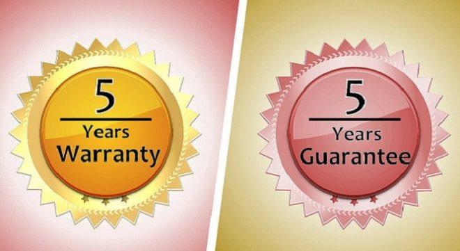 guarantee and warranty difrent InMarathi