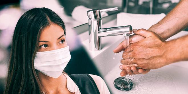 handwash and mask inmarathi
