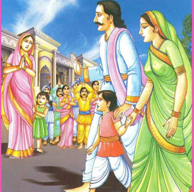 harishchandra returns home inmarathi