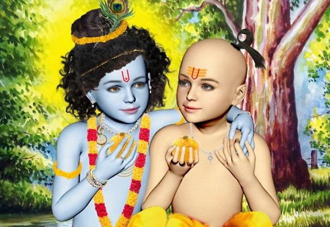 krishna and sudama inmarathi