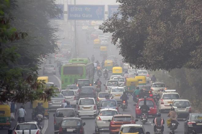 pollution inmarathi