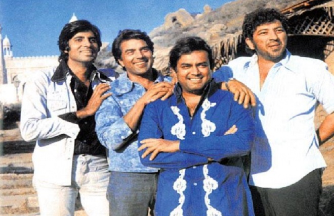 sholay film inmarathi