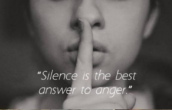 silence inmarathi