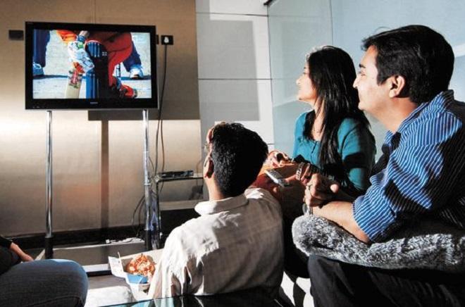 watching tv inmarathi