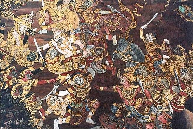 dashrajan war inmarathi