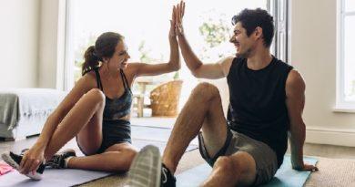 fitness couple inmarathi