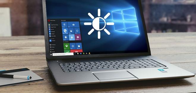 laptop brightness