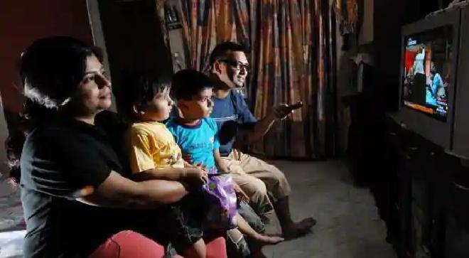 people watching tv inmarathi