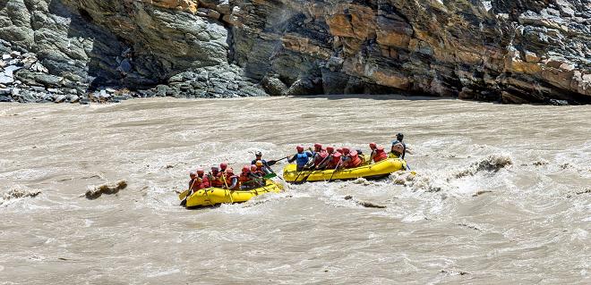 river rafting inmarathi