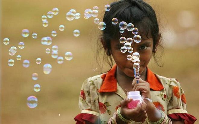 soap baloons inmarathi