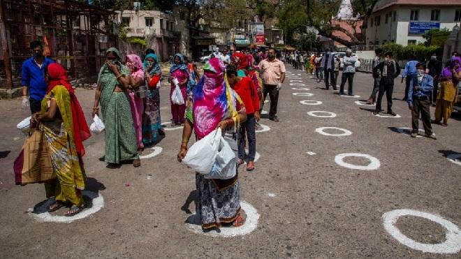 social distancing inmarathi