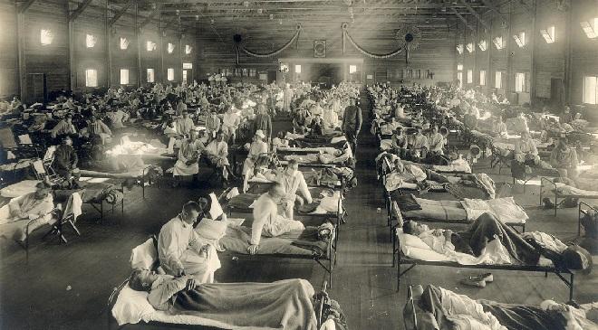 spanish flu inmarathi