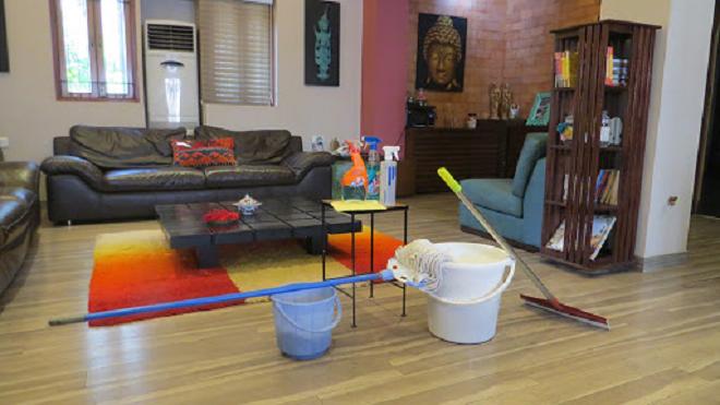 cleaning inmarathi