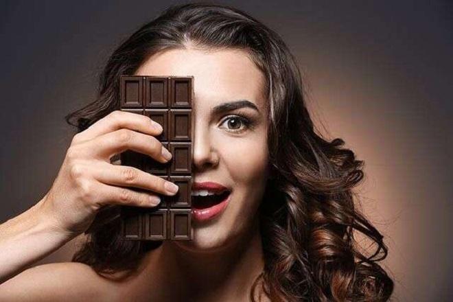 dark chocolate inmarathi